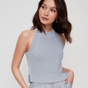 Aritzia Crevier Top in Light Grey